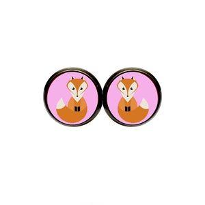 Fox Earrings - Cute Animals